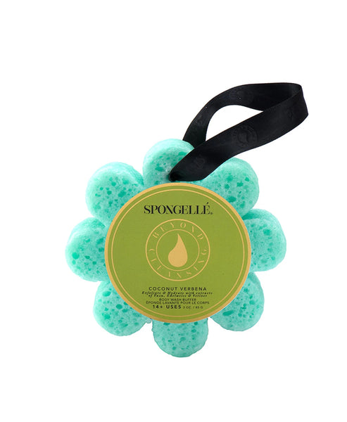 Zoom view for Wild Flower Bath Sponge- Coconut Verbana- Unboxed