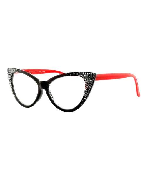 Zoom view for Cat Eye Swarovski Crystal Readers: +2.50 Strength