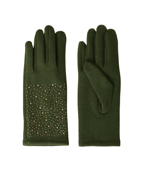 Gloves w/ Crystals - Fox's