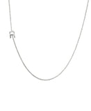 Sterling Silver Initial Necklace- Online Exclusive - Fox's