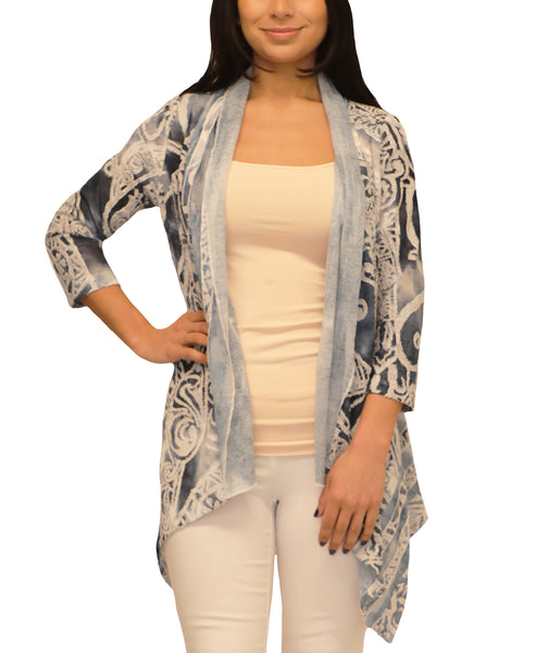 Tye Dye Burnout Cardigan - Fox's