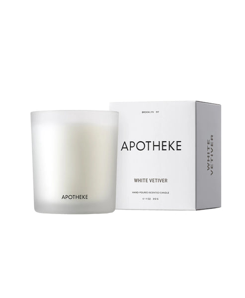 Zoom view for White Vetiver Signature Candle