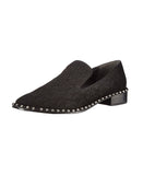 Leather Loafer w/ Studs
