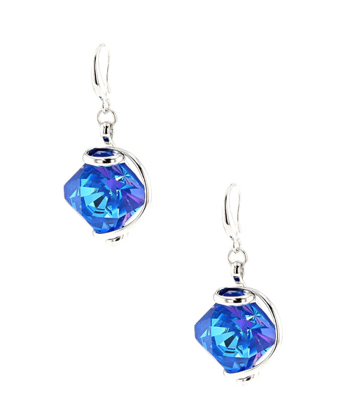 Zoom view for Swarovski Crystal Drop Earrings A