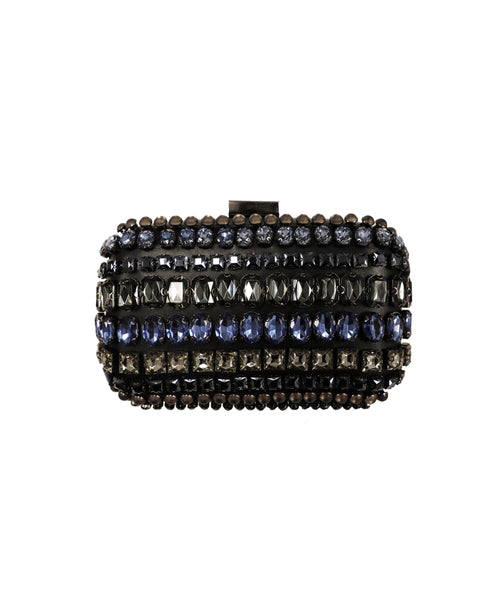 Multi Stone Evening Clutch Bag