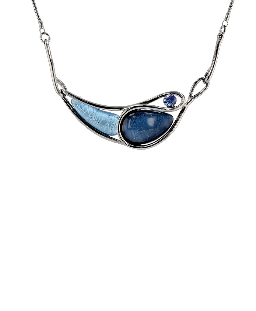 Abstract Collar Necklace