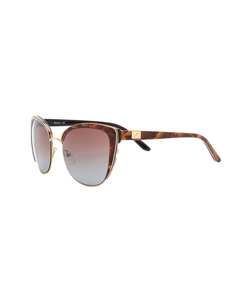 Cat Eye Snake Print Sunglasses