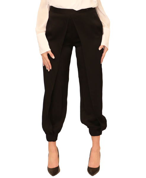 Wrap Front Jogger Pants - Fox's