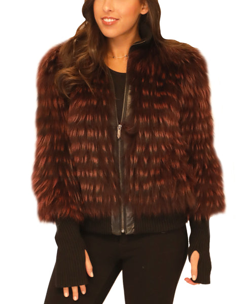 Fox Fur Jacket - Fox's
