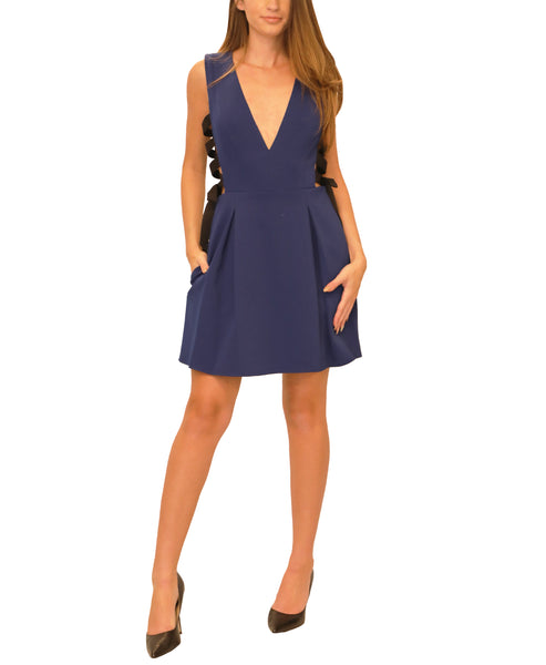 Cocktail Dress w/ Lace Up Sides - Fox's
