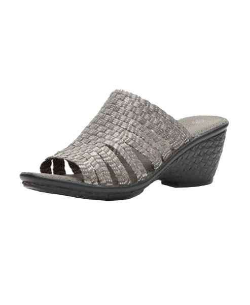 Woven Stretch Wedge Slide