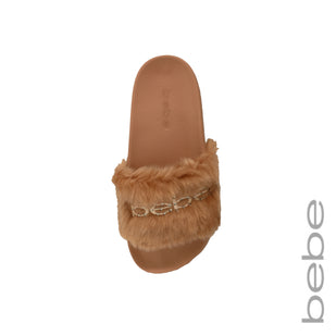 Faux Fur Logo Slide