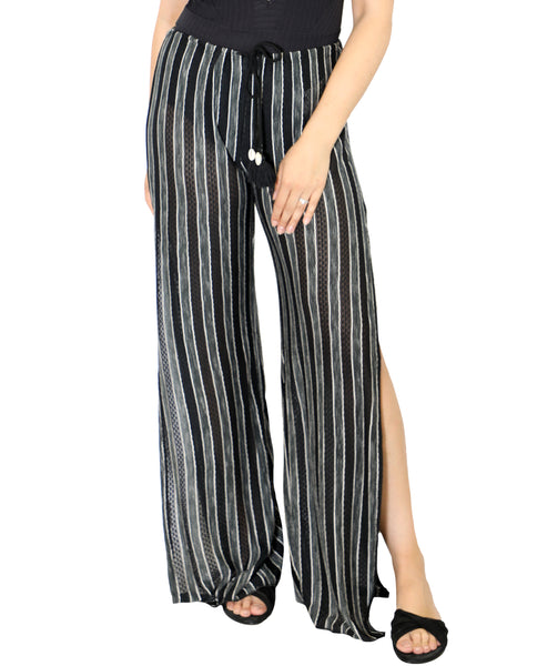 Zoom view for Stripe Knit Pants