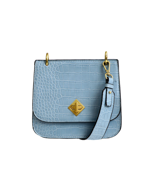 Zoom view for Croc Embossed Crossbody