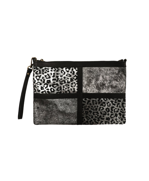 Pony Hair Animal Print Handbag