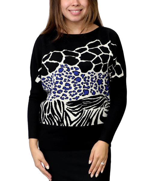 Zoom view for Animal Print Sweater