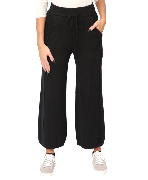 Wide Leg Knit Pants - Fox's