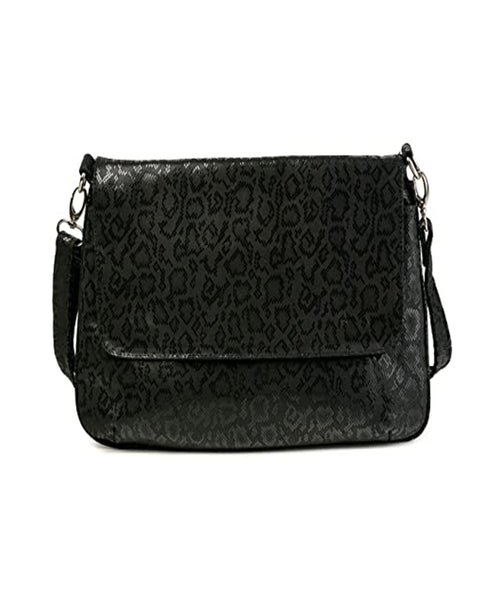 Zoom view for Leather Messenger Crossbody