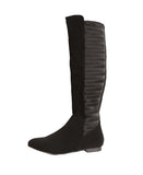 Tall Shaft Stretch Boot w/ Textured Back
