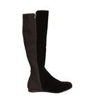Tall Shaft Velvet Boot