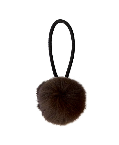 Zoom view for Fur Pom Hair Tie