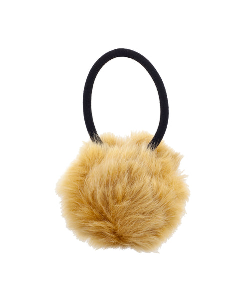 Zoom view for Fur Pom Hair Tie A