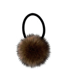Faux Fur Pom Hair Tie