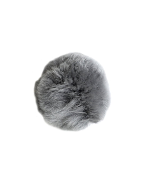 Zoom view for Fur Pom Barette/Brooch A