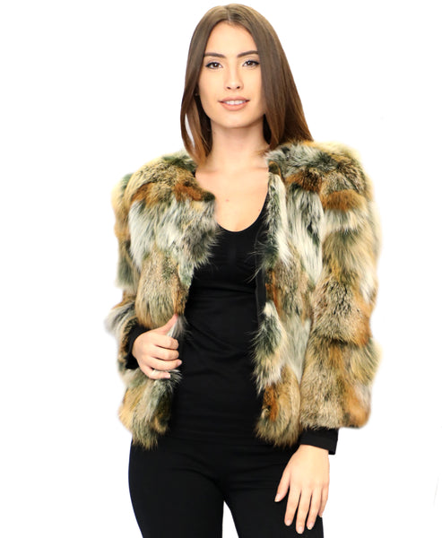 Zoom view for Fox Fur Jacket