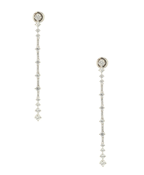 Zoom view for CZ Drop Earrings