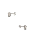 Ascher Cut Cubic Zirconia Stud Earrings