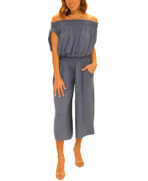 Zoom view for Off The Shoulder Jumpsuit