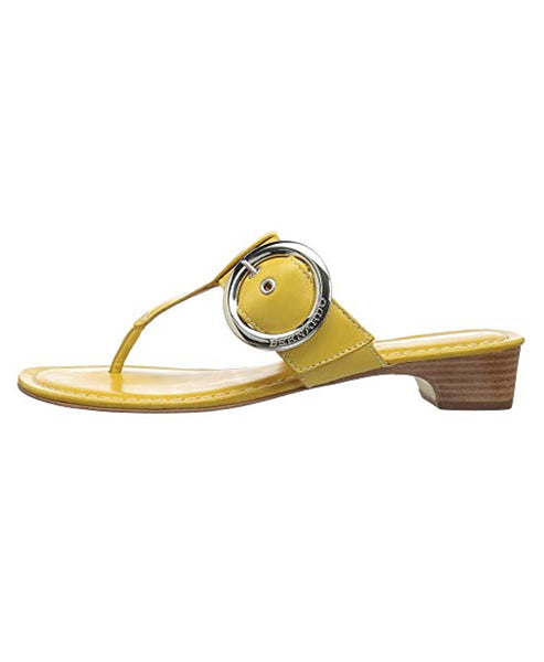 Zoom view for Leather T-Strap Sandal