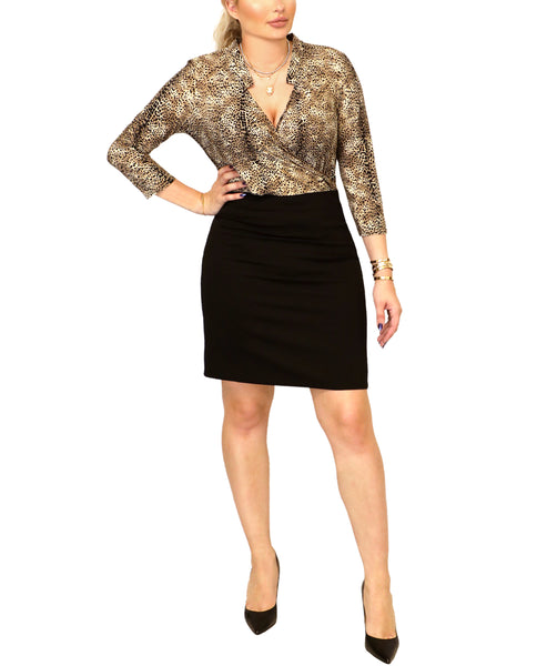 Leopard Print Dress - Fox's