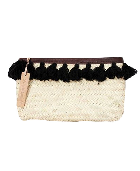 Zoom view for Palm Clutch w/ Tassels A