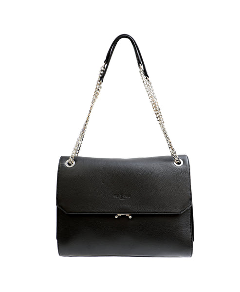 Zoom view for Leather Chain Strap Shoulder Bag A