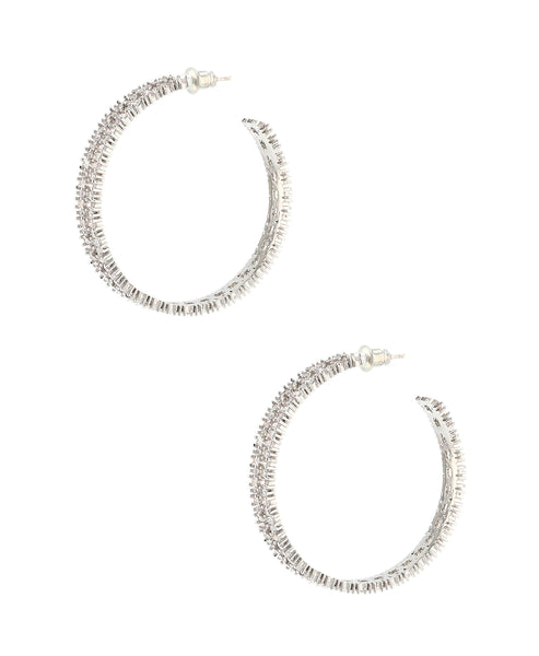 Zoom view for Hoop Earrings A