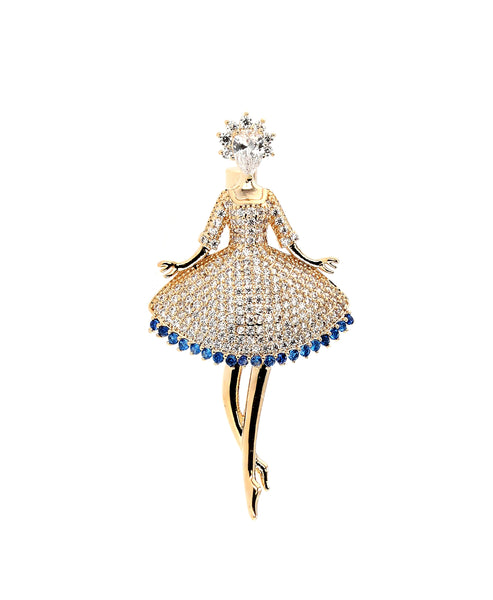 Zoom view for Ballerina Brooch A