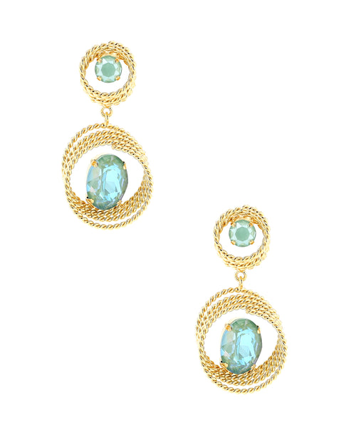 Zoom view for Swarovski Crystal Drop Earrings