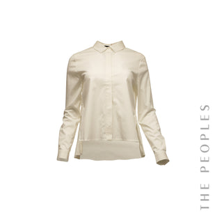 Long Sleeve Shirt w/ Pleated Back