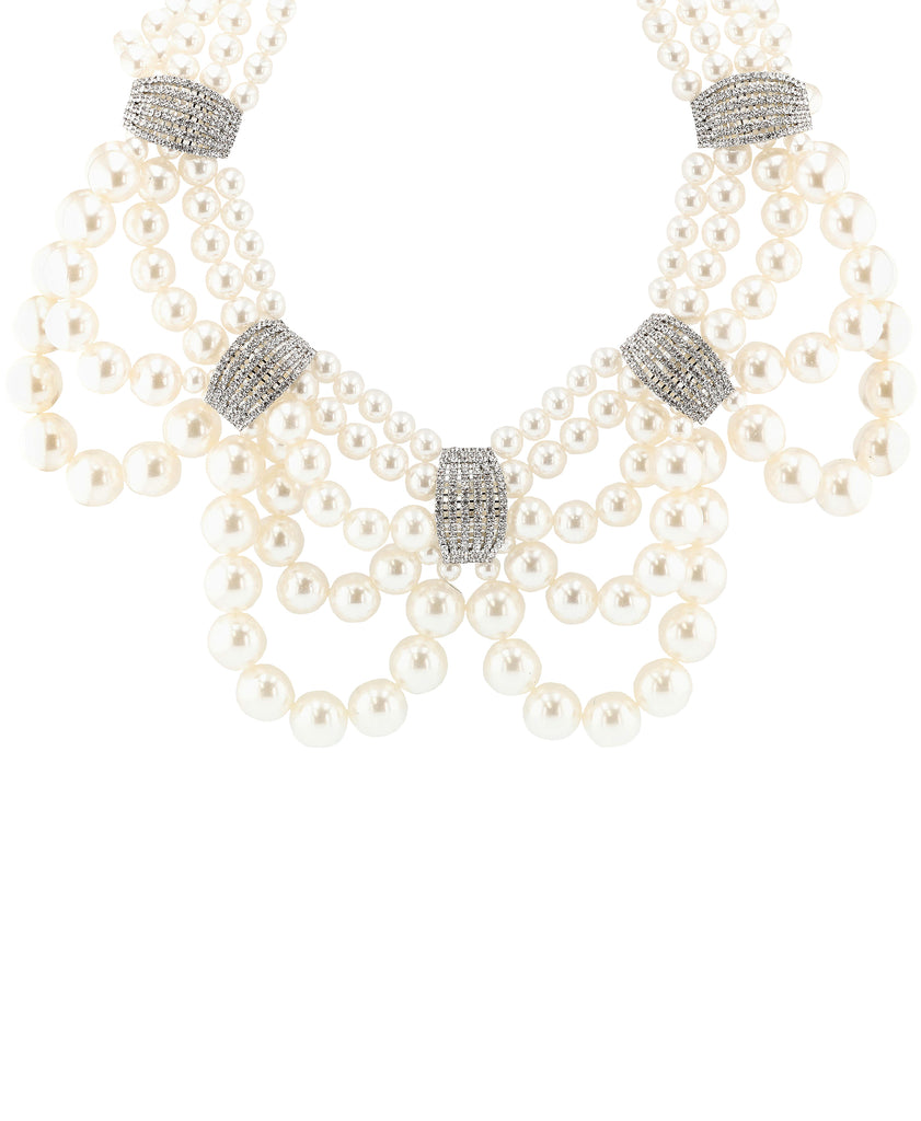 Statement Collar Necklace & Earring Set