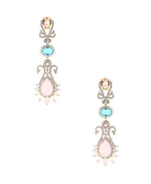 Zoom view for Intricate Dangle Earrings
