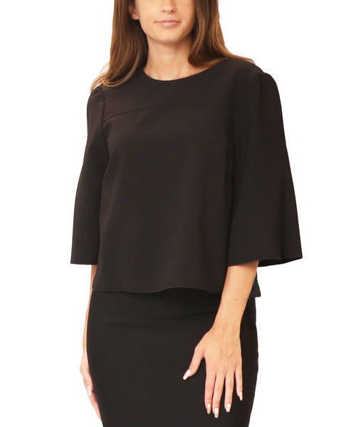 Split Sleeve Blouse - Fox's