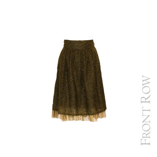 Eyelash Skirt w/ Tulle Bottom