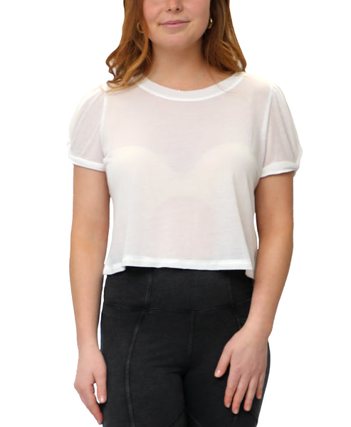 Zoom view for Crop Tee A