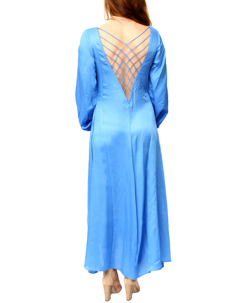 Zoom view for Open Back Maxi Dress A