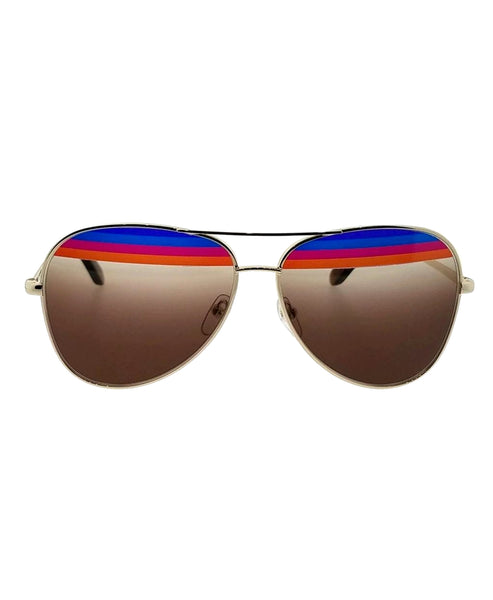 Zoom view for Striped Sunglasses A
