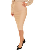 Bandage Bodycon Pencil Skirt - Fox's