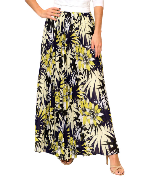 Zoom view for Pleated Maxi Skirt