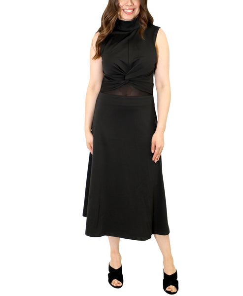 Zoom view for Midi Dress With Twist Front